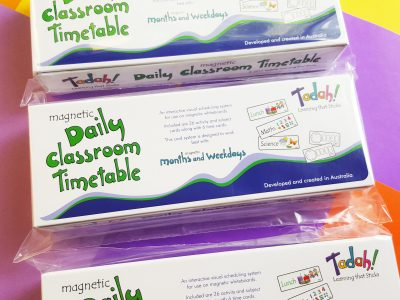 Tadah Learning that Sticks Daily Classroom Timetable
