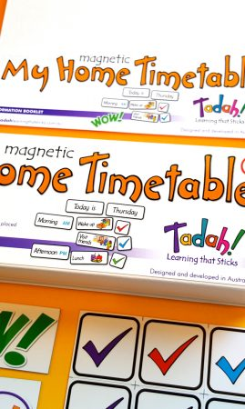 Magnetic My Home Timetable